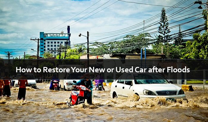 How to Restore Your New or Used Car after Floods in Sri Lanka?