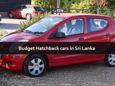 Budget Hatchback cars in Sri Lanka