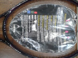 Head Tennis Racquets Ungutted 660 Lady