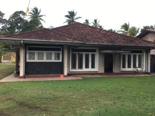 House for sale with land in weligama