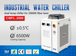 Closed Circuit Water Chiller for 2KW Fiber Laser