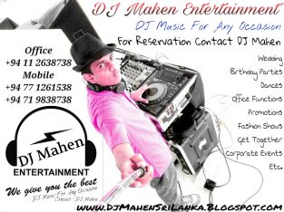 Wedding DJ Sri Lanka