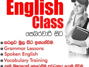 Professional English Classes Panadura