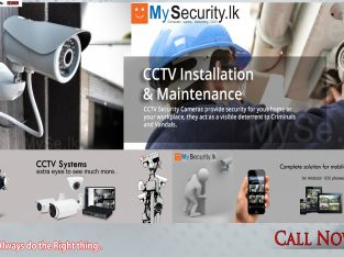 CCTV Camera Installation & Services