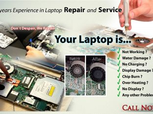 Laptop Repairing and Service ( Chip level )