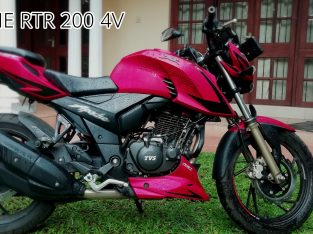 Apache rtr 200 4v – HIRE For Photoshoots