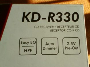 J V C KD-R-330 AM / FM CD MP3 Radio Player