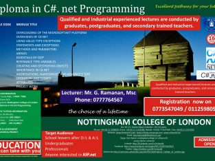 Diploma in English Level I