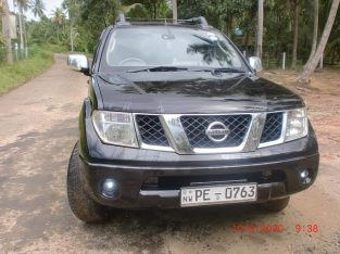 Nissan Navara double cabs for rent