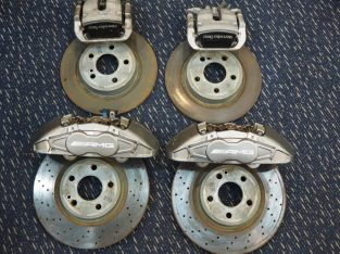 MERCEDES BENZ W176 A45AMG 2015 BRAKE CALIPERS WITH