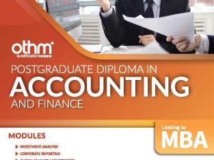 Post Graduate Diploma in Accounting & Finance