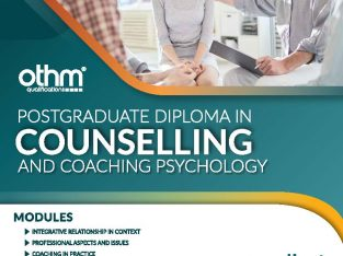 Post Graduate Diploma in Councelling & Coaching..