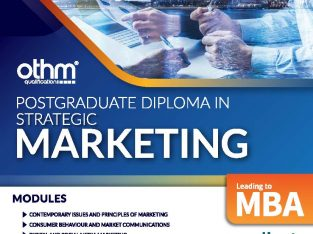 Post Graduate Diploma in Strategic Marketing