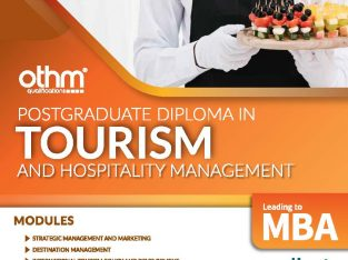 Post Graduate Diploma in Tourism and Hospitality