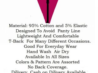 LADIES INNERWEAR ( G-STRING THONG PANTIES )