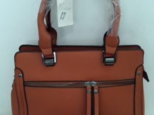 Imported Handbags – Red and Orange Colour