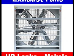 Wall Exhaust fans fans sale srilanka, Belt driven