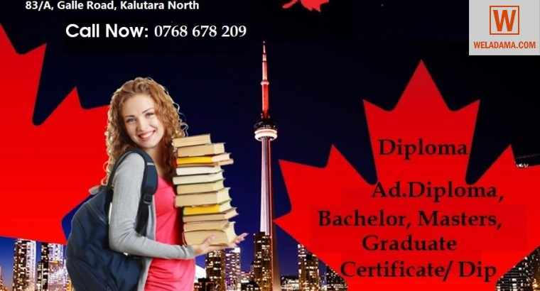 Canada Student Visa – Admission open for JAN2021