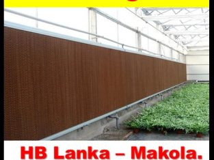 air cooling pads systems for green house srilank