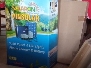Solar Powered Lighting System/ Phone Charging Unit