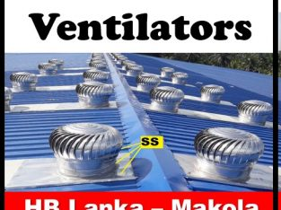 Exhaust fans ,wind turbine ventilators srilanka ,r