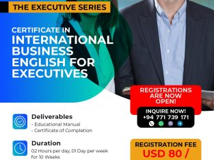 CERTIFICATE IN INTERNATIONAL BUSINESS ENGLISH