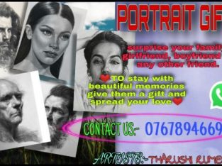 Portrait art gifts