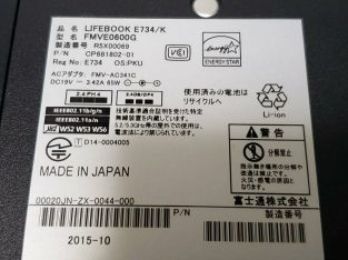 Japan Used best performance Laptop