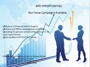 NON VOICE CAMPAIGNS AVAILABLE