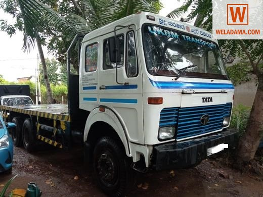 10 WHEEL TATA DOUBLE CABIN LORRY