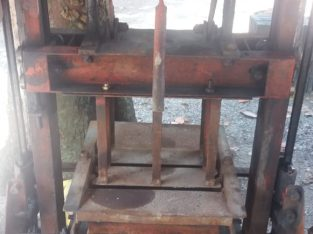 WANTED USED BLOCK GAL MACHINE