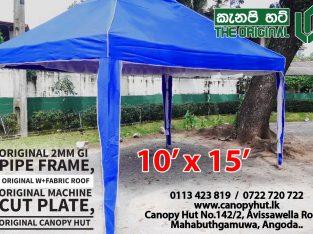 canopy Hut the original