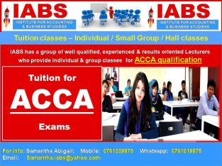ACCA – Individual & Group Classes