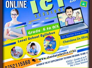 ICT On-Line Classes for Grade 6 – O/L