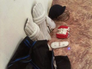 Cricket practice bag,set