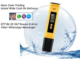 Water pH Meter Buy Now from NANO ZONE TRADING