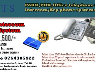 Intercom Systems (PABX) WS 208