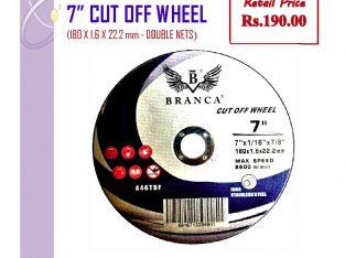 180×1.6×22.2mm Cutting Wheels (Double net)