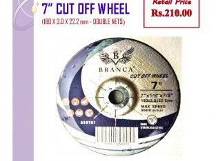 180×6.0×22.2mm Grinding Wheels (7″)