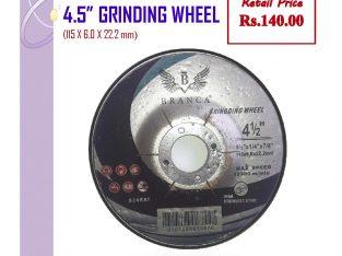 115×6.0×22.2mm Grinding Wheels (4.5″)