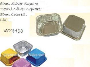 Lunch box FOOD TAKEAWAY Disposable aluminium sri l
