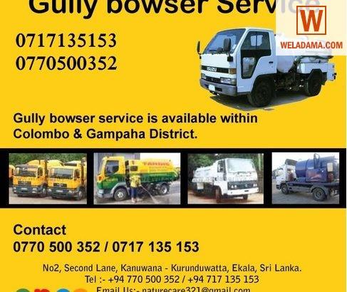 Gully Bowser O77O5OO352 Sri Lanka Gully Cleaning S