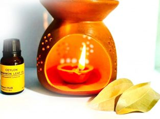 Cinnamon oil BURNER Traditional peaceful