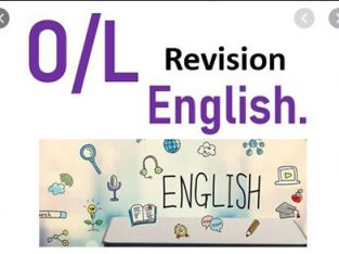 GCE O/LEVEL ENGLISH QUICK REVISION CLASSES