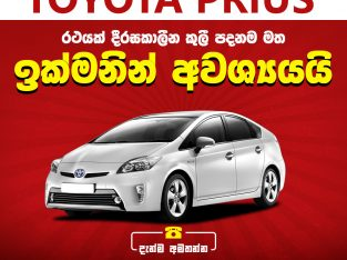 Toyota Prius Wanted for Rent