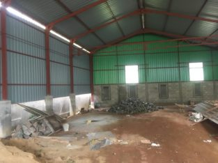 Steel warehouse for rent