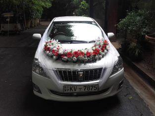 Wedding Car Hire Toyota Premio
