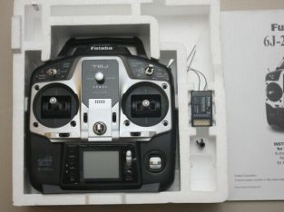 6 channel digital proportional R/C system with rec
