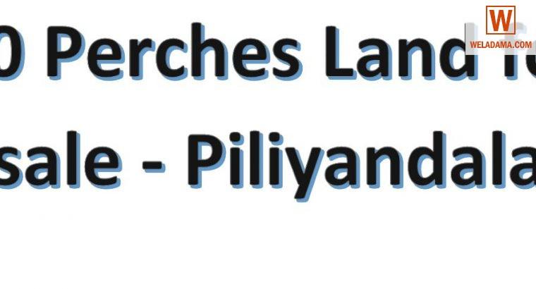 10 Perches Land – Piliyandala