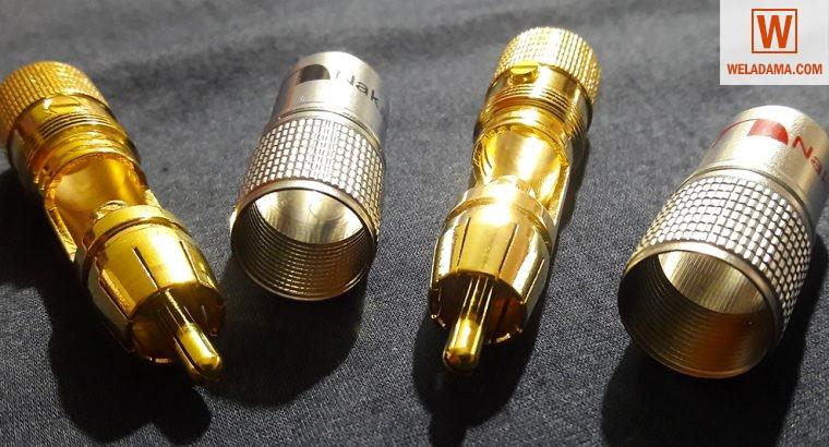 Original Nakamichi RCA Connectors & Original Cordi